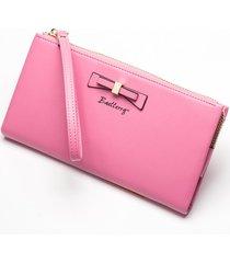 gran capacidad cartera para mujer/ bolso de embrague de-rosa