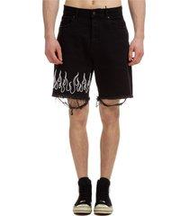 bermuda shorts pantaloncini uomo flame