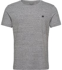 i logo softwash organic tee t-shirts short-sleeved grå banana republic