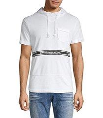 fedel logo t-shirt hoodie