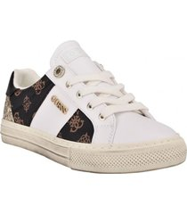 zapatilla footwear gwloven3-a brmll blanco guess