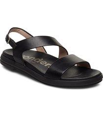 b-7403 shoes summer shoes flat sandals svart wonders