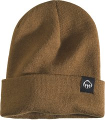 wolverine fleeced lined knit watch cap chestnut, size one size