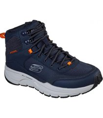 botín escape plan 2.0 - woodrock azul marino skechers