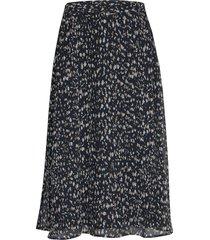 haze violetta skirt knälång kjol blå bruuns bazaar