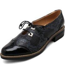zapato charol negro heels.d