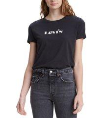 levi's women's since 1873 logo perfect t-shirt