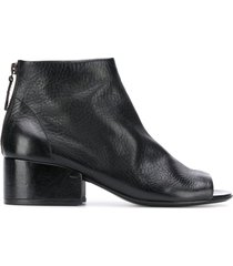marsèll open-toe booties - black