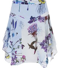 stella mccartney printed all-over skirt
