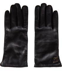 lautre chose logo plaque gloves