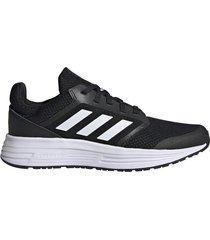zapatilla negra adidas galaxy 5