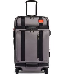 tumi merge 26-inch short trip expandable rolling suitcase - grey