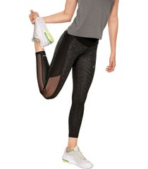 leggings negro-gris asics