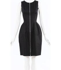 alaia hourglass cotton dress