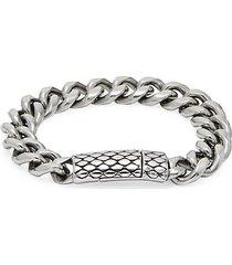 bee hive curb chain bracelet