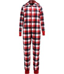 matching women's buffalo check onesie family pajamas, created for macy's