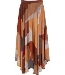 bonifacio abstract french riviera skirt