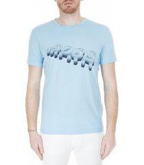 overhemd man met hugo boss logo - hugo-boss, lichtblauw, xl