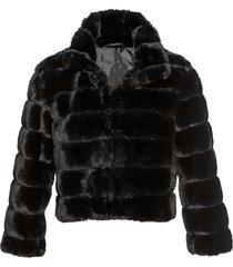 giacca corta in pelliccia sintetica (nero) - bpc selection premium
