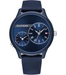reloj azul tommy hilfiger 1782146 - superbrands