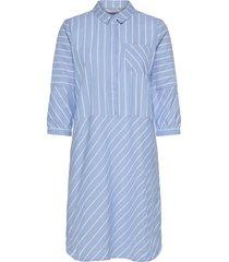 cunielle dress knälång klänning blå culture