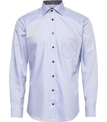 light blue structure with contrast overhemd business blauw bosweel shirts est. 1937