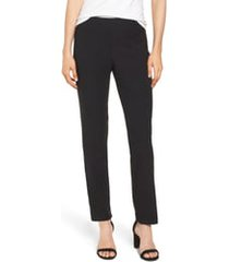 women's nic+zoe wonderstretch straight leg pants, size 18 - black