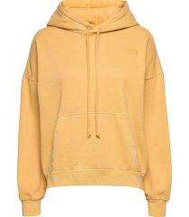 2020 hoodie ultra soft ochre g hoodie trui geel levi´s women