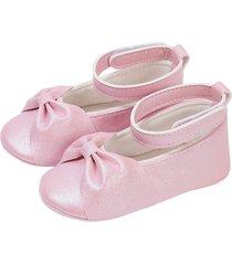 baletas cosidas rosado offcorss