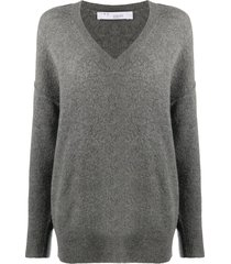 iro loose-fit v-neck sweater - grey