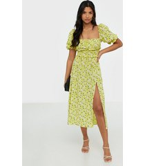for love & lemons chrysanthemum midi dress loose fit dresses