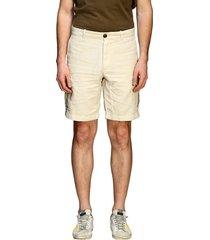 eleventy bermuda shorts eleventy kargo bermuda shorts in cotton and linen