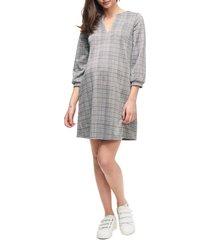 women's maternal america pearls maternity shirt dress, size x-small - none