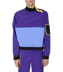 kenzo colourblock sweatshirt