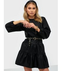 nly trend casual pu dress loose fit dresses