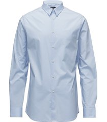 daniel cbu clean poplin skjorta business blå j. lindeberg
