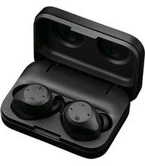 audífonos bluetooth estéreo inalámbricos con estuche de carga - negro