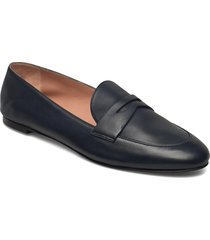 carrie loafer-n loafers låga skor blå boss