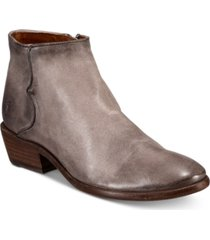 frye women's carson piping leather booties women's shoes