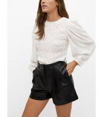 mango women's elastic panel blouse