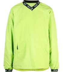 palace v-neck sweatshirt - green