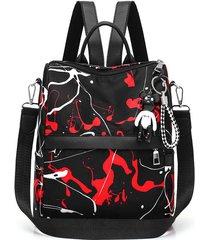 mochilas de viaje mochila antirrobo mujer impermeable oxford travel bagpack