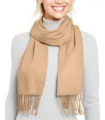 cejon solid fringe italian scarf