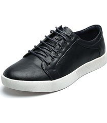 tenis azul-blanco kenneth cole frank lace up sneaker