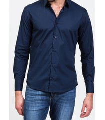 camisa azul  prototype icaria