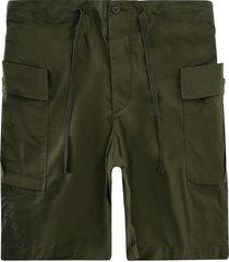 workware side pocket shorts - green wrkspkt-grn pckt short
