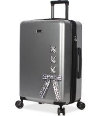 "bcbgeneration urban bohemia 24"" hardside spinner suitcase"
