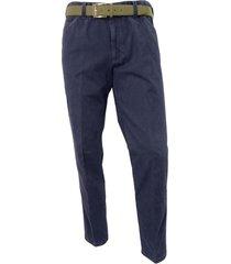 pantalone mod. chicago 2-3904/17 stretch blu foderato '' thermo''