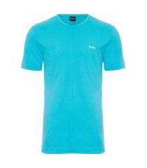 t-shirt masculina básica - azul