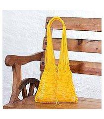 nylon market bag, 'cozumel sun' (mexico)
